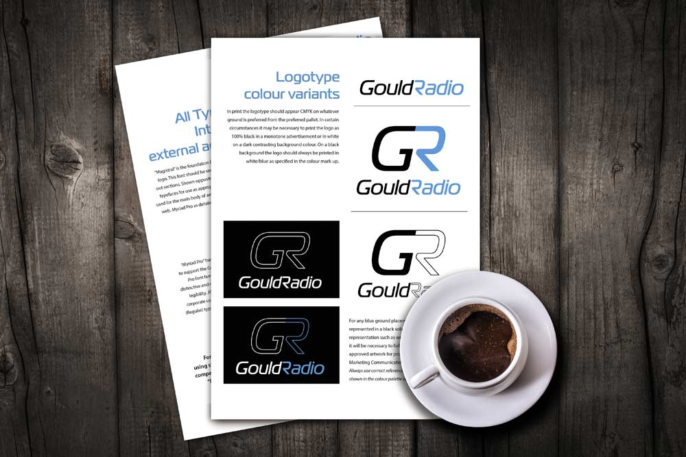 Gould Radio brand development