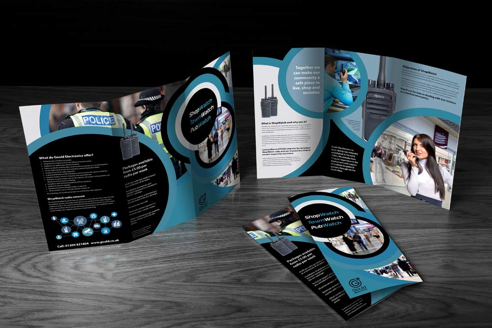 Gould shopwatch brochure design