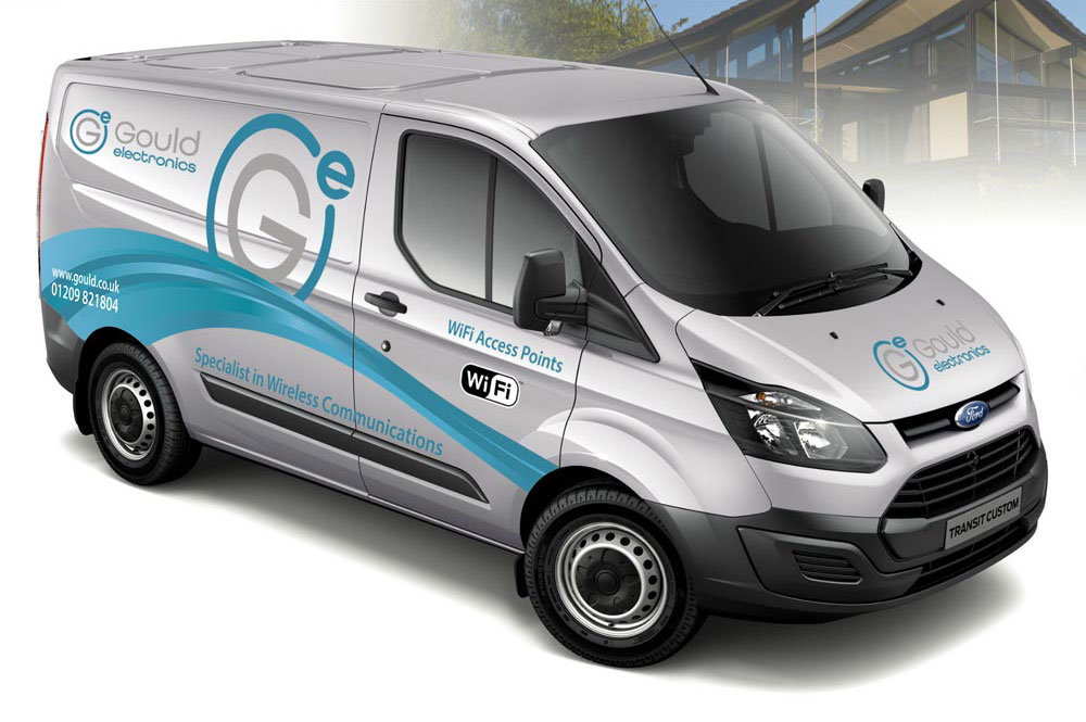 Gould Vehicle graphic design